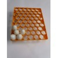 Cofrag ouă porumbei, prepelițe 129 poziții